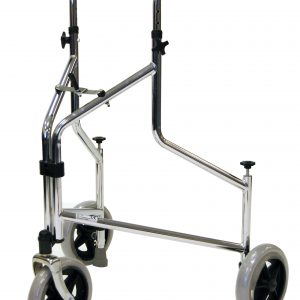 Tri-wheeled walker with Pressure Brakes-2330-0