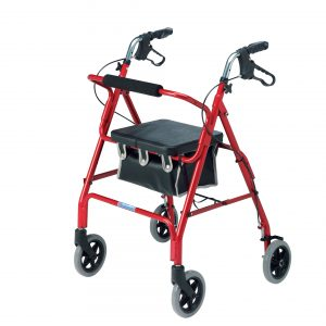 Light weight 4 wheel rollator-2462/R-0
