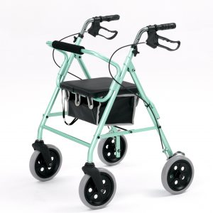 Light weight 4 wheel rollator-2463 Green-0
