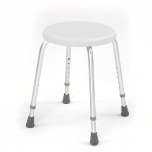 Compact Aluminium Shower Stool-4204-0