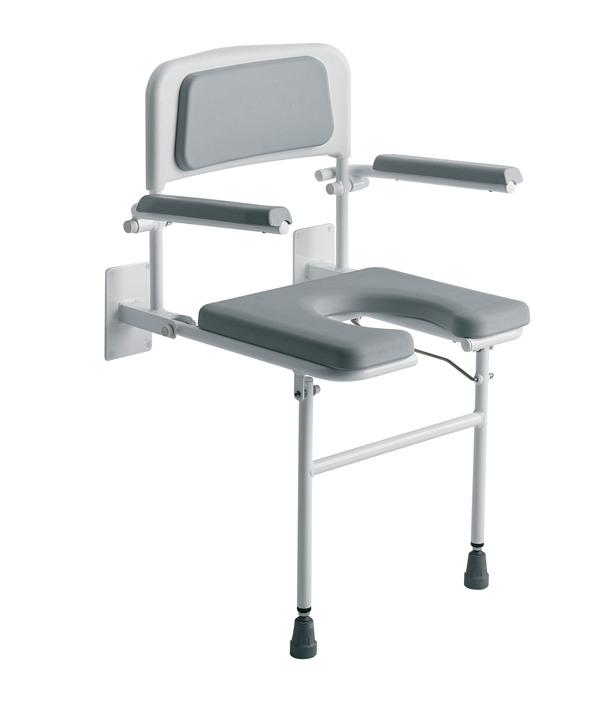 wall chair mounted fold ultralife up shower healthcare product