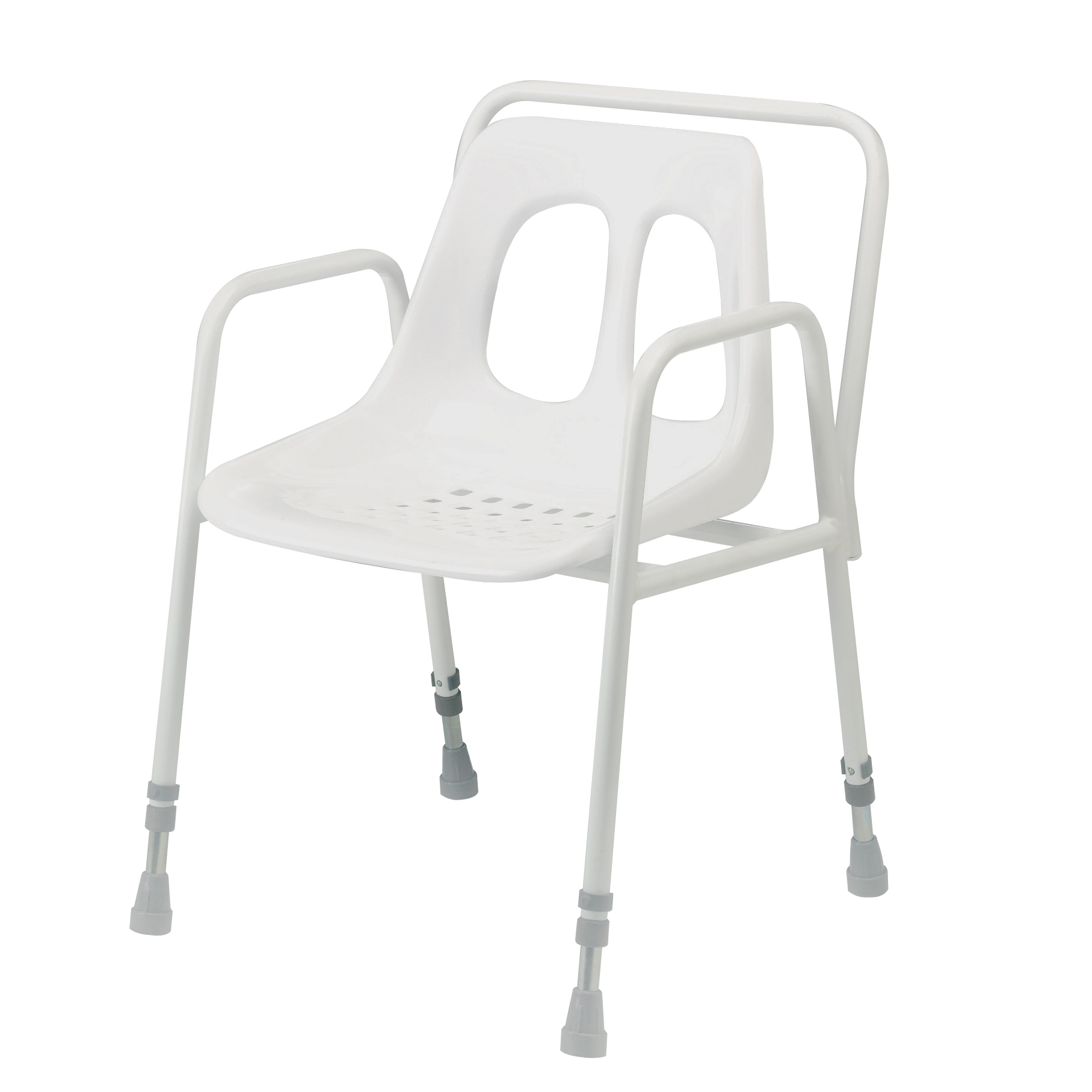 Adjustable Height Stationary Shower Chair 4553 Ex